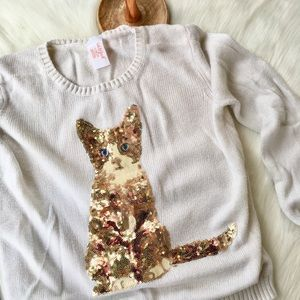 Cat & Jack Girls Top Size Large 10/12 in EUC